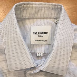 Ben Sherman Tailored Skinny Fit Shirt